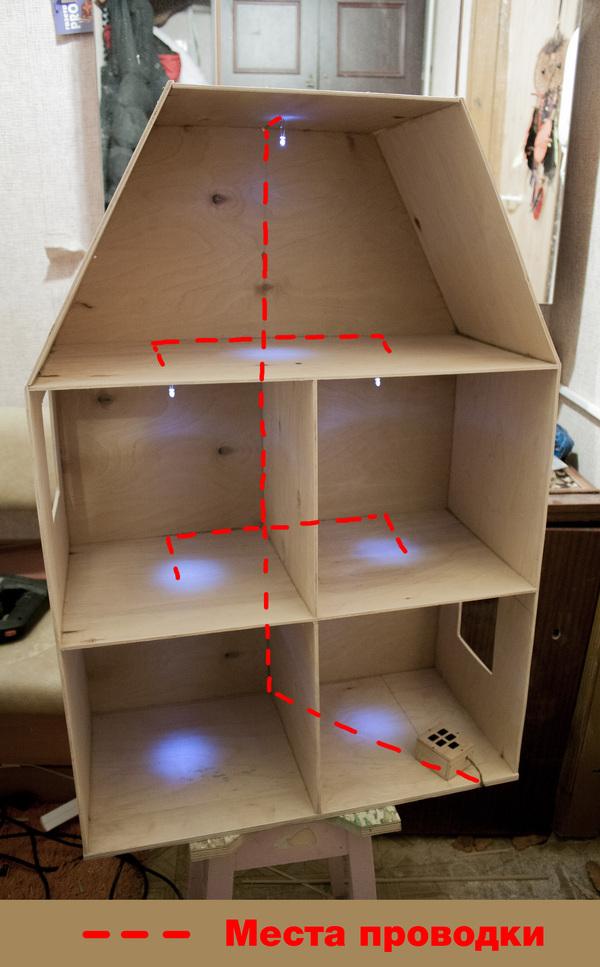 333Мебель для кукольного домика из фанеры чертежи