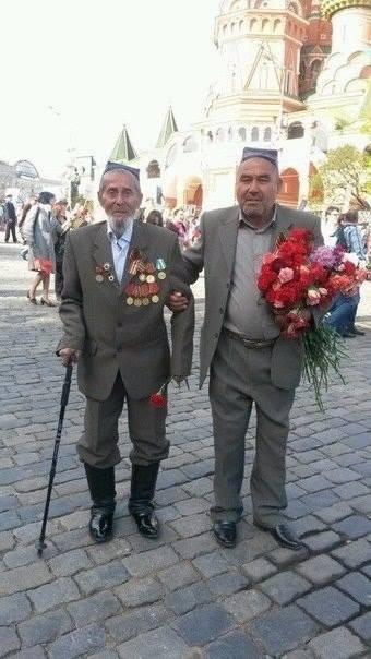 Ветеран из Узбекистана.