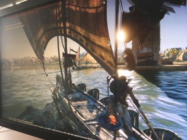 Утёкший кадр новой Assassin's Creed Osiris (или Origin) Игры, assassins creed, osiris, Origin, Египет, ubisoft