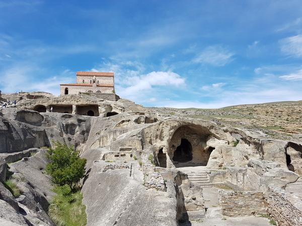 Древний город Уплисцихе Грузия, уплисцихе, город, длиннопост