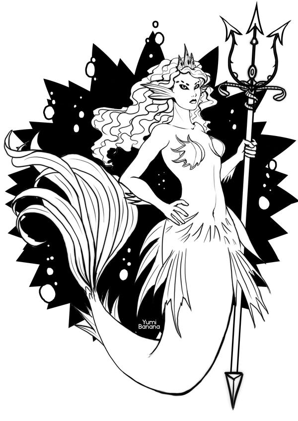 Mermay #3 арт, mermay, русалка, digital