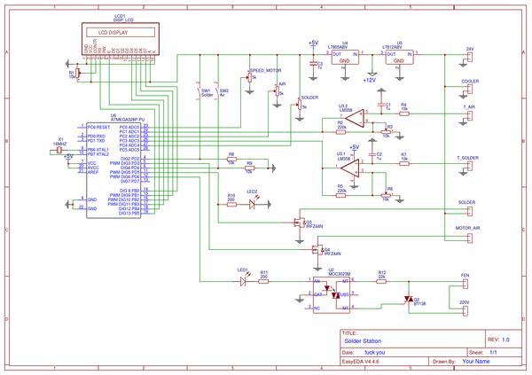 Паяльная станция (Manual) Паяльная станция, Своими руками, Микроконтроллеры, Пятничный тег моё, Длиннопост, Arduino