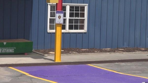 Парковка для ветеранов ветераны, парковка, длиннопост
