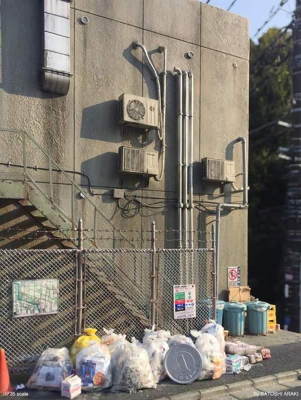 Городской реализм в масштабе японского моделиста Satoshi Araki Стендовый моделизм, Урбан, Масштабная модель, Внимание к деталям, Терпение, Длиннопост