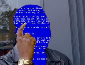 Как избавить пользователя от проблем насущных - рецепт от Microsoft юмор, прикол, пикабу, Microsoft, Обновление, вирус, шифровальщик