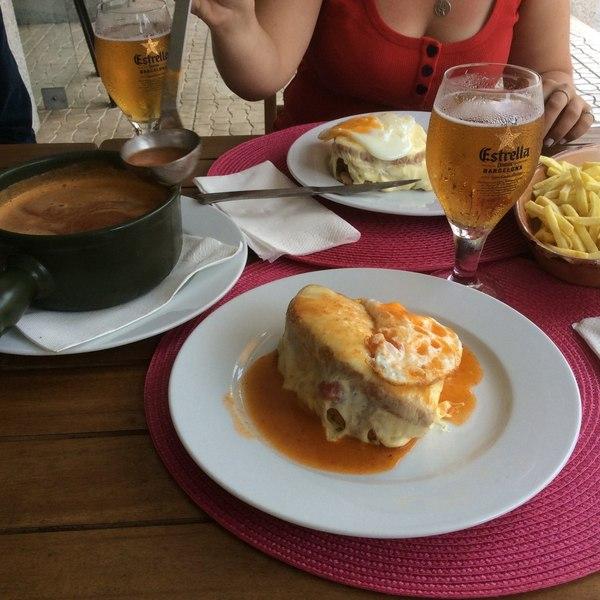 Францезинья еда, путешествия, стритфуд, фастфуд, сэндвич, португалия