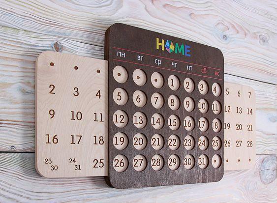 """Очередной """"вечный"""" календарь. Да как же вы все за... Календарь, ЧПУ, Своими руками, Дарт вейдер, Крафт, Рукоделие без процесса, Длиннопост, Моё"""