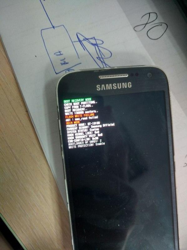 Умерла emmc Samsung S4 mini? Galaxy, Emmc, Память, I9190, Длиннопост