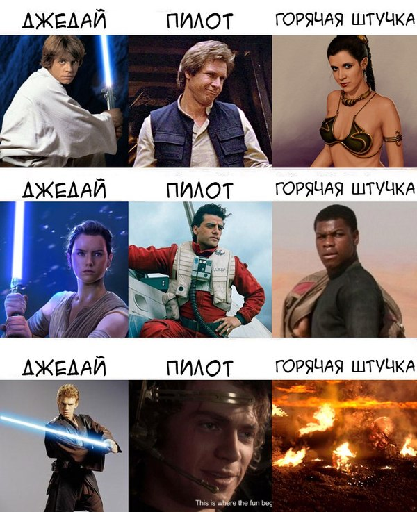 Коротко о трилогиях