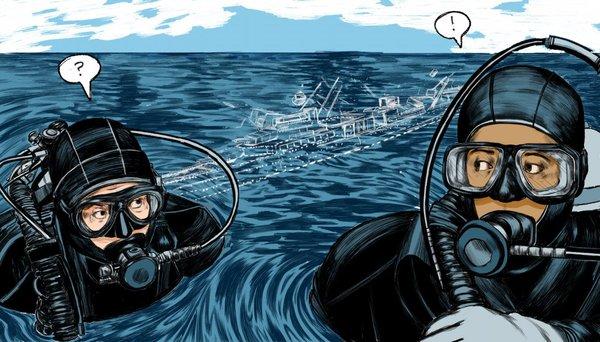 Злоумышленники похитили 7 многотонных военных кораблей времен Второй мировой со дна Яванского моря. Затонувшие корабли, Металлургия, Преступность, Новости