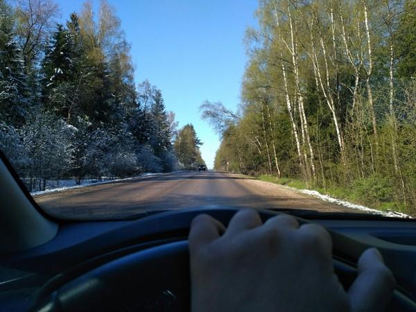 Зима vs Весна Зима, Весна=зима, Весна, Дорога, Фотография