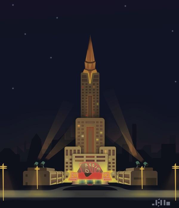 Опять пятничное Арт, Артдеко, Adobe Illustrator