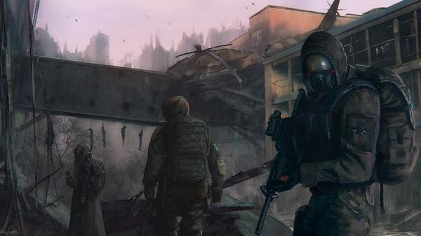 СТАЛКЕР сталкер, постапокалипсис, концепт, арт, ALVP