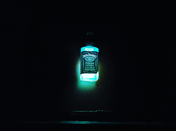 И тут я узрела свет... светильник, лампа, Jack Daniels, алкоголь