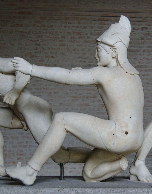 Bunte Gtter. Скульптуры, которые они заслужили. Античность, Скульптура, Неожиданно, Длиннопост