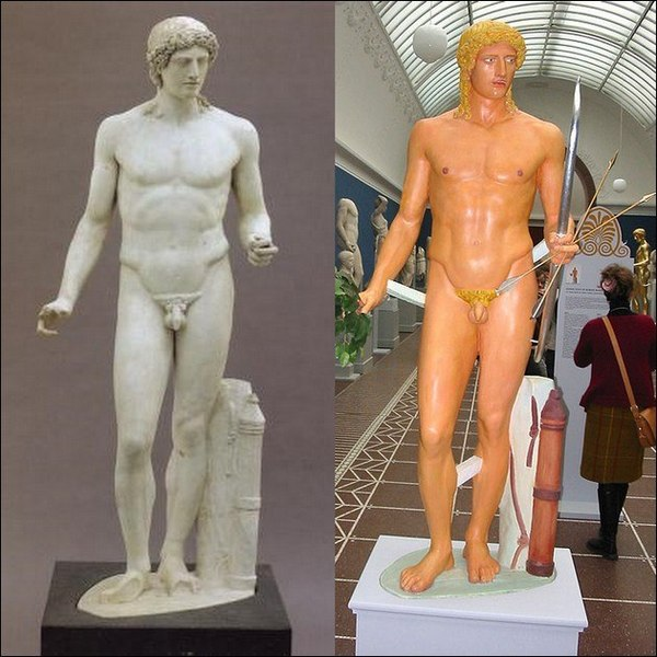 painted greek sculpture essay Write a brief essay describing some of the or different from greek works) • sculpture and painting history homework please help asap.