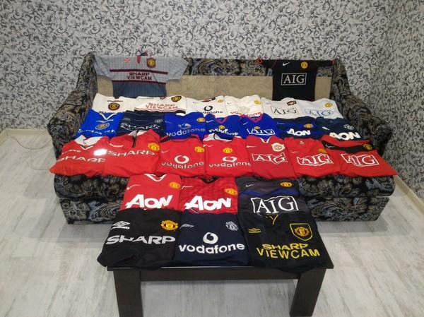 Мое хобби. Собираю футболки Манчестер Юнайтед. футбол, манчестер юнайтед, Коллекция, хобби