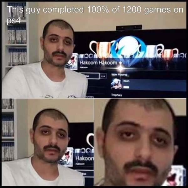 Твоё лицо, когда твои достижения не помогают в жизни Компьютерные игры, Playstation 4, достижение