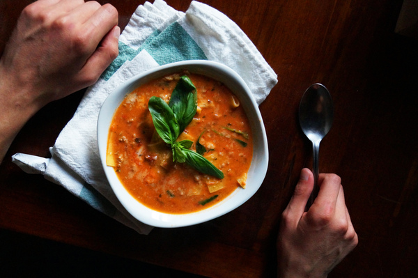 Лазанья-суп Рецепт, Еда, Лазанья, Суп, Вкусняшки, Италия, Длиннопост