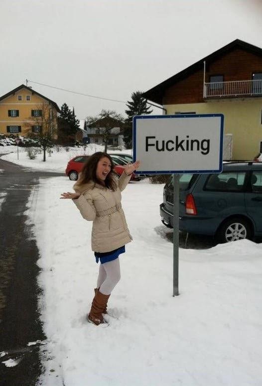 Фуккинг ин Австрия