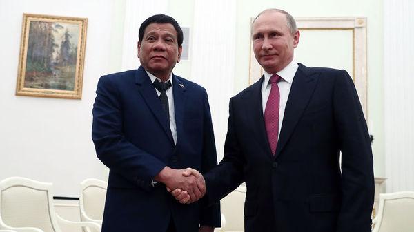 Путин принес соболезнования в связи с террористической атакой на Филиппинах Россия, филиппины, Родриго Дутерте, Путин, Политика