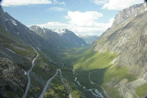 Лучше гор могут быть только горы... Норвегия, путешествия, горы, водопад, тролль, длиннопост