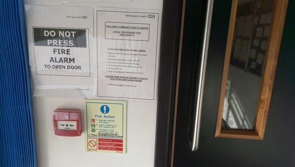 Для не самых внимательных Дверь, Сигнализация, больница, UK