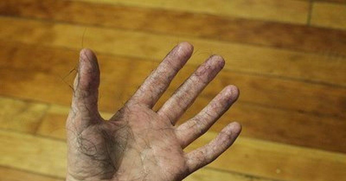 Прикольная картинка мужские руки
