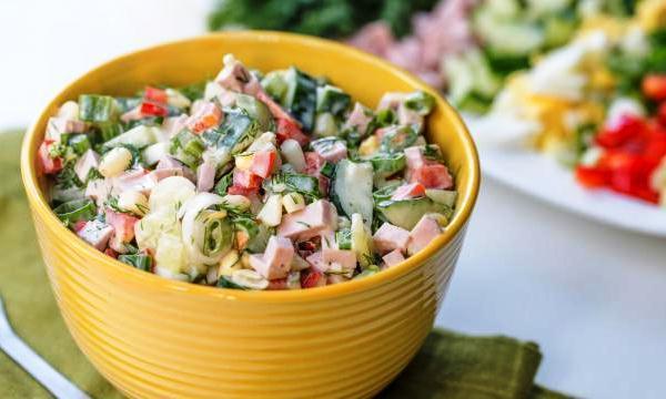 Быстрый салат из кукурузы