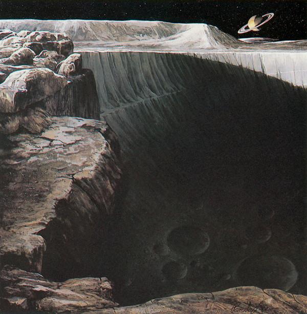 Работы Памелы Ли Pamela Lee, Sci-Fi, арт, космос, Юпитер, Сатурн, Марс, длиннопост