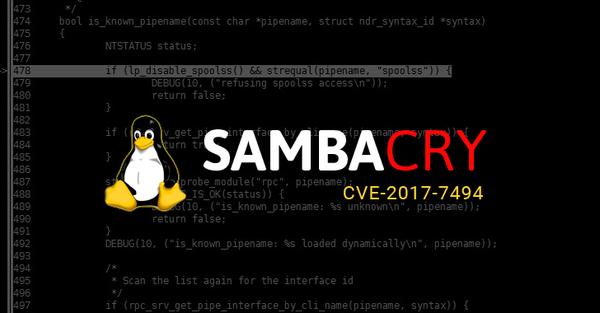 Внимание! Linux-версия эксплойта EternalBlue Samba, Linux, Smb, SambaCry, Уязвимость, Habr, Длиннопост