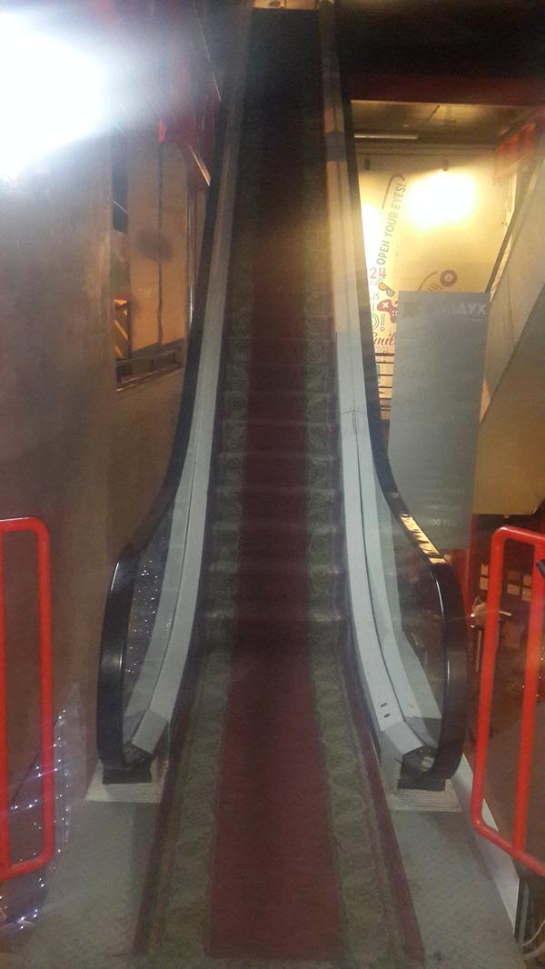 Эскалатор для ВИП-персон