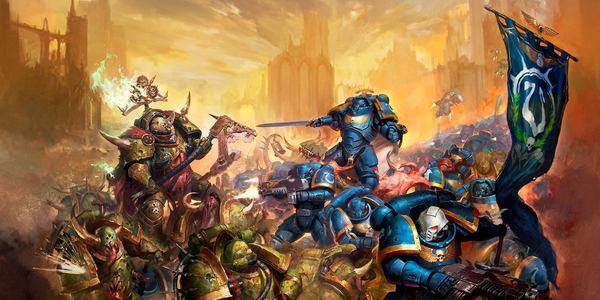 Крестовый поход Индомитус - перевод из кодекса Космодесанта 8 редакции Warhammer 40k, wh back, длиннопост