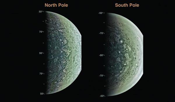 Первые научные результаты от юпитерианской миссии НАСА «Юнона» Миссия, Юнона, Juno, Космос, Вселенная, Юпитер, Исследование, Планета, Длиннопост