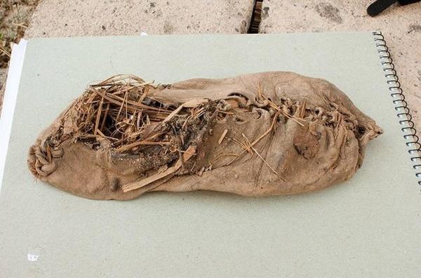 Самые старые мокасины (5500 лет) Интересное, Мокасины, Обувь, Древность, Армения