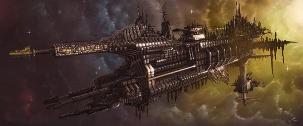 Epic Spacecraft Видео, арт, Космический корабль, иллюстрации