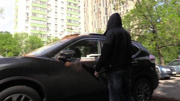 На внедорожник москвича вывалили кучу навоза новости, Культура парковки, Навоз, япаркуюськак