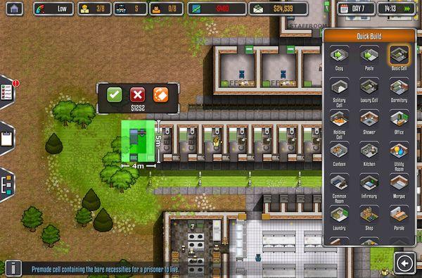 Игры для android и iOS игры, android, ios, strategy, Prison Architect, The Escapists, Beholder, свежее, длиннопост