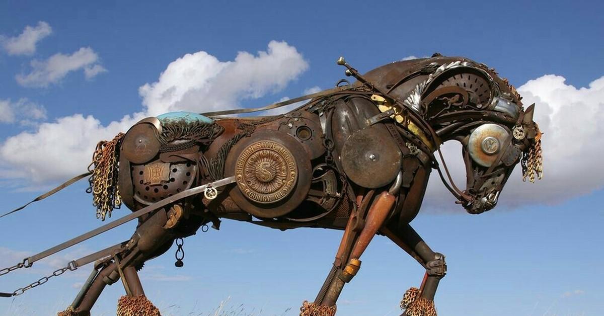 картинки лошадь железная известная модификация