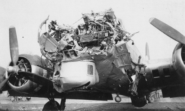 Damaged B17 Photos  American Heroes Channel