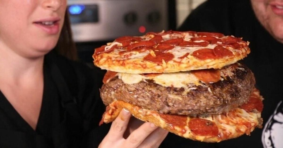 прикольные фотографии пиццы с бургером лапшой приготовить