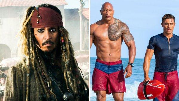 Студии винят критиков в низких сборах «Пиратов» и «Спасателей Малибу». критика, пираты карибского моря, спасатели малибу, фильмы, новости, сборы, Rotten Tomatoes, exitus