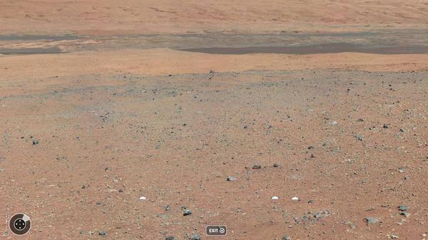 Теперь можно чуть-чуть прогуляться по Марсу космос, марс, curiosity, числа