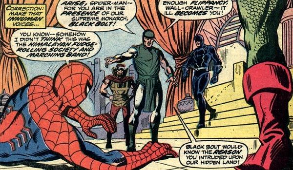 Секс сцены из комиксов о человеке пауке