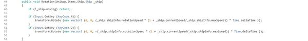 Кодовый парусный корабль #4 Код, Программирование, Unity, Gamedev, Разработка игр, Гифка, Длиннопост