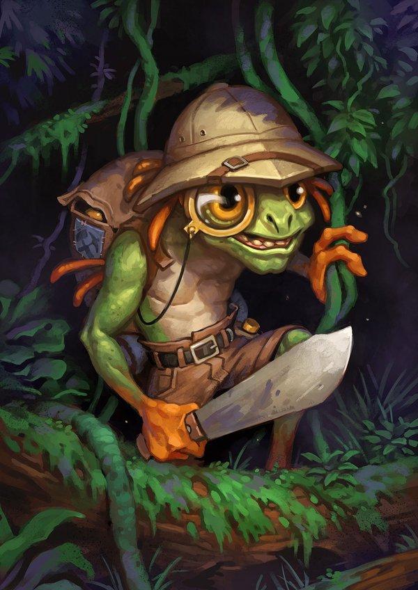 I am murloc Мурлоки, Hearthstone, Арты карт, Картинки, World of Warcraft, battle net, Краб, длиннопост