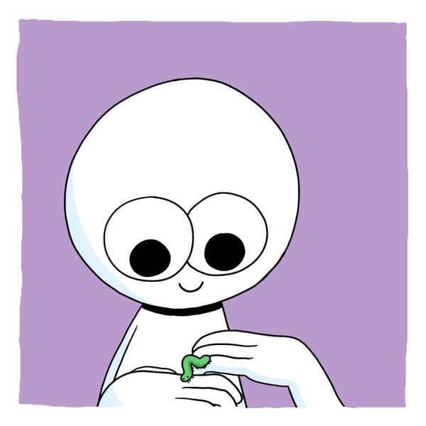 О чём ты думаешь, маленькая гусеница? Комиксы, icecreamsandwichcomics, длиннопост