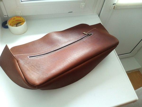 Как я зажопил 19.999 рублей и сшил сумку сам Кожевенное ремесло, кожа, сумка, длиннопост