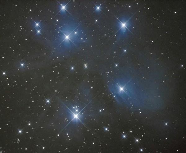 Плеяды туманность, астрофото, Sony, Уссурийск, фотография, плеяды, дальний восток, Приморский край
