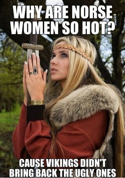 О нордических девушках. викинги, Нордический, нордические девушки